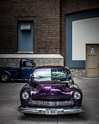 Street Photography Digital Art - Classic Purple by Perry Webster