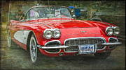 Perry Webster - Classic Red Corvette