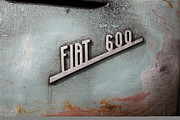 Logos Prints - Classic Retro Fiat 600 5D25287 Print by Wingsdomain Art and Photography