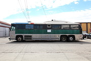 Buses Photos - Classic Retro Greyhound Bus 5D25255 by Wingsdomain Art and Photography