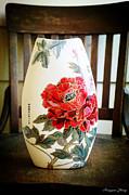 Classic Rich Hibiscus Flowers Print by Hongyan Zhang