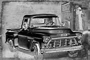 Chevrolet Pickup Truck Posters - Classic Ride Poster by Betty LaRue
