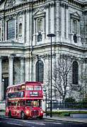 Mass Transit Framed Prints - Classic Routemaster Framed Print by Heather Applegate