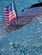 Chris Craft Photos - Classic Spray by Steven Lapkin
