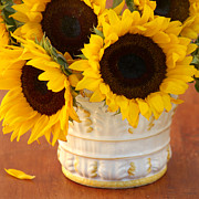 Classic Sunflowers Print by Art Block Collections