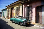 Antique Automobiles Photos - Classic Trinidad by James Brunker