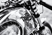Racer Photos - Classic Triton Cafe Racer  by Tim Gainey