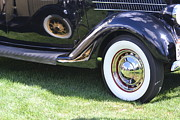Bill Mock Metal Prints - Classic Wheels Metal Print by Bill Mock