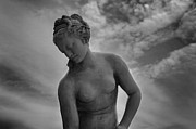 Greek Sculpture Metal Prints - Classic Woman Statue Metal Print by Setsiri Silapasuwanchai