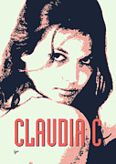 Monroe Framed Prints - Claudia C Framed Print by Chungkong Art