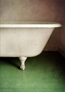 Claw Posters - Claw Foot Tub Poster by Jill Battaglia