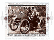 Kirkland Prints - Clear Case Of Mechanic Abuse -METAL PRINT RECOMENDED Print by Curt Johnson