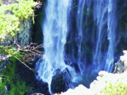 Clear Mixed Media - Clear Creek Falls - White Pass Highway by Photography Moments - Sandi