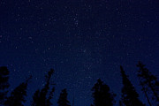 Stary Sky Prints - Clear Night Print by Bruce Hamel