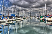 Yacht Photos - Clearing Storm by Heidi Smith