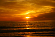 Tina A Stoffel - Clearwater Beach Sunset