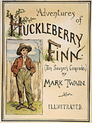 Huckleberry Photos - Clemens: Huck Finn, 1885 by Granger