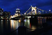Roberto Clemente Bridge Photos - Clemente Crossing by David Yunker