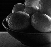 Abstracted Photos - Clementines by Val Arie