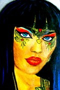 Rock And Roll Pastels Originals - Cleopatra by Lynette  Swart