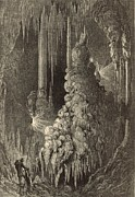 Appleton Art Art - Cleopatras Needle and Anthonys Pillar 1872 Engraving by Antique Engravings