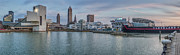 Terminal Photos - Cleveland Cityscape by Jennifer Grover