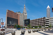 Terminal Photos - Cleveland Downtown I by Clarence Holmes