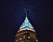 Cleveland Electrified Print by Frozen in Time Fine Art Photography