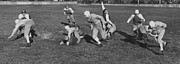 Black By Playing Art - Cleveland High Schools Playing Six Man Football in 1941 by Mountain Dreams