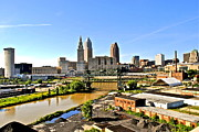 Municipality Prints - Cleveland ohio Print by Robert Harmon