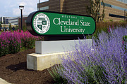 Vikings Prints - Cleveland State University Print by William Ragan