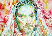 Cliff Burton Portrait.2 Print by Fabrizio Cassetta