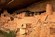 Mesa Verde Photos - Cliff Palace Ruins by Adam Jewell