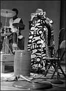 Sun Ra Arkestra Photos - Clifford Jarvis and Sonny 1968 by Lee  Santa