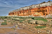 David Birchall - Cliffs at Hunstanton