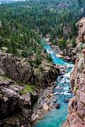 Randall Branham - Cliffs Edge Mountain River