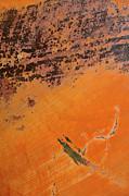 Cliffs Of Mars Print by Fran Riley