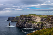 Juergen Klust Metal Prints - Cliffs of Moher I Metal Print by Juergen Klust