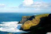 Luck Of The Irish Prints - Cliffs of Moher Print by Kristen Karpoich