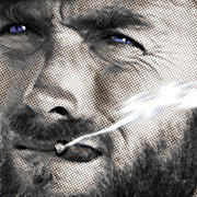 Movie Star Photo Originals - Clint Eastwood Western by Tony Rubino