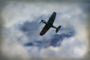 Spitfire Photos - Clipped Wing Spitfire by Jason Green