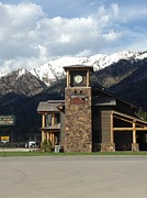 Shawn Hughes - Clock in Alpine Wyoming