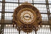 BERNARD JAUBERT - Clock in the Musee d