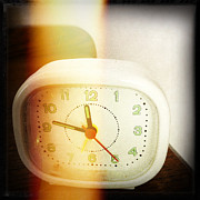 Alarm Clock Photos - Clock by Les Cunliffe