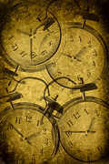 Clocks Metal Prints - Clocks Metal Print by Christopher and Amanda Elwell