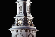 Clocktower Prints - Clocktower by Night Print by Eric Gendron