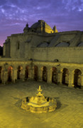 Arequipa Prints - Cloisters at sunset Print by James Brunker