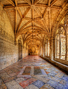 Nigel Hamer Prints - Cloisters At The Monastery Print by Nigel Hamer