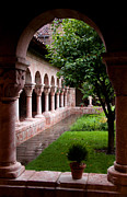 Cloisters Museum Prints - Cloisters Print by Frank Tozier