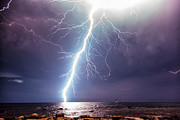 Lightning Strike Originals - Close call lightning by Marko Korosec